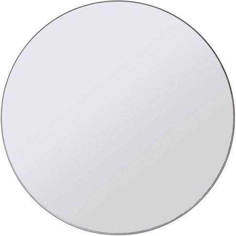 Libra Fitzroy Bronze Circular Mirror Medium