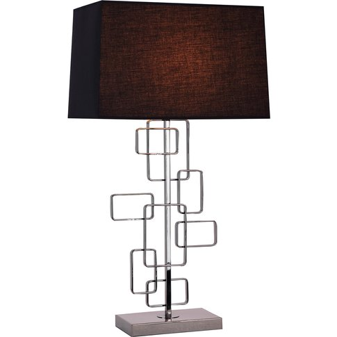 Liang & Eimil Black Metal Table Lamp