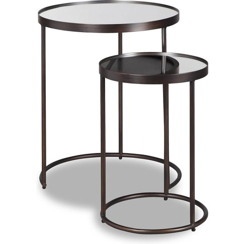 Liang & Eimil Song Side Table Antique Bronze Coated ...