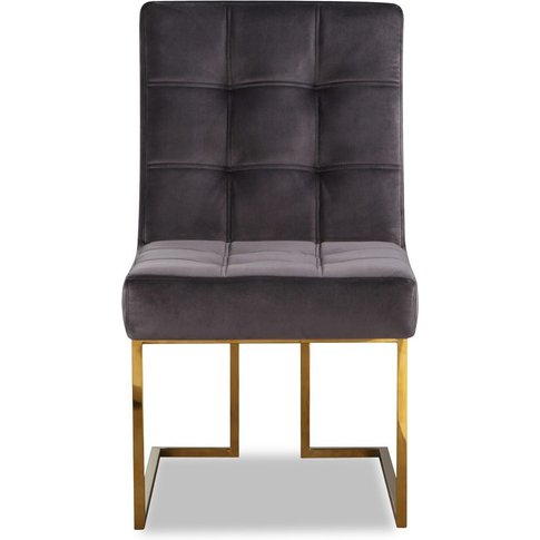 Liang & Eimil Warhol Dining Chair Polished Brass