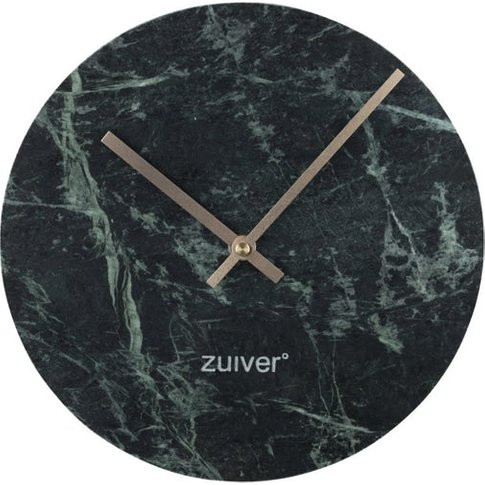 Zuiver Clock Marble Time Green
