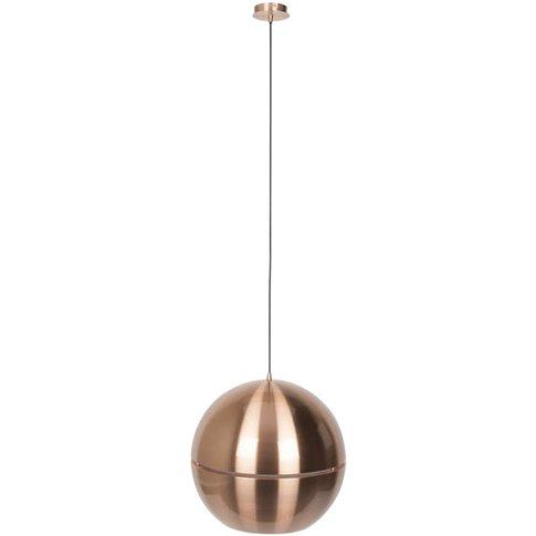 Zuiver Pendant Lamp Retro '70 Copper R50