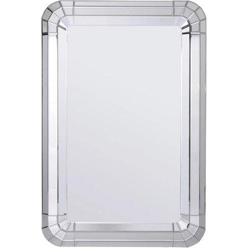 Libra Bellamy Curved Rectangular Mirror | Outlet