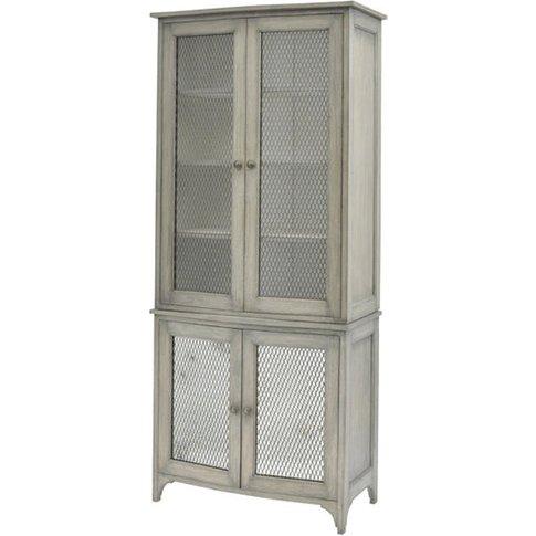 Libra Fairmont Mindi Wood Large Cabinet