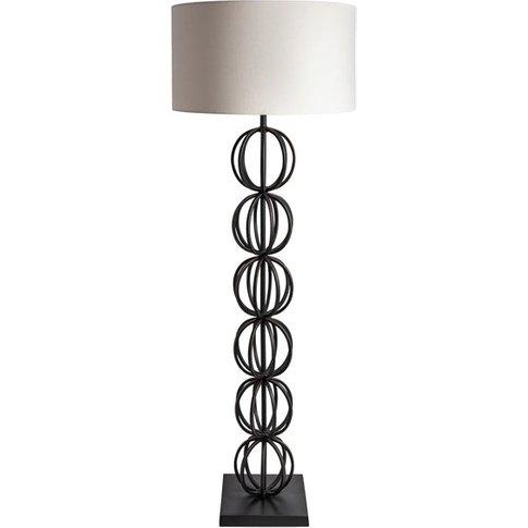 Heathfield & Co Rollo Bronze Floor Light