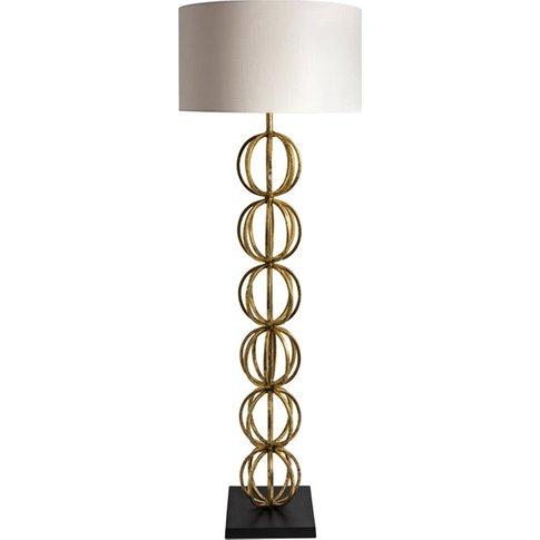 Heathfield & Co Rollo Gold Floor Light