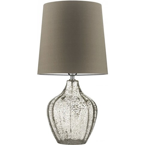 Heathfield & Co Vivienne Medium Clear Table Lamp