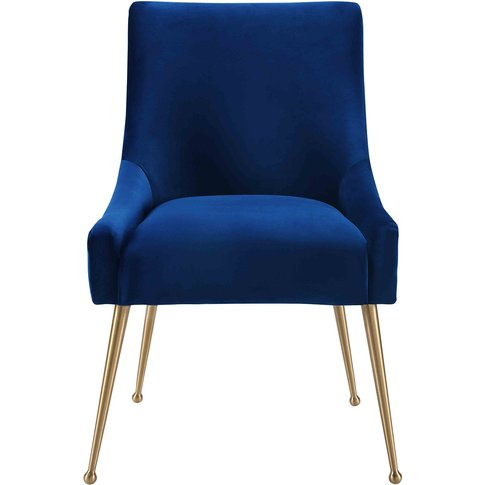 Liang & Eimil Cohen Dining Chair - Marine Blue