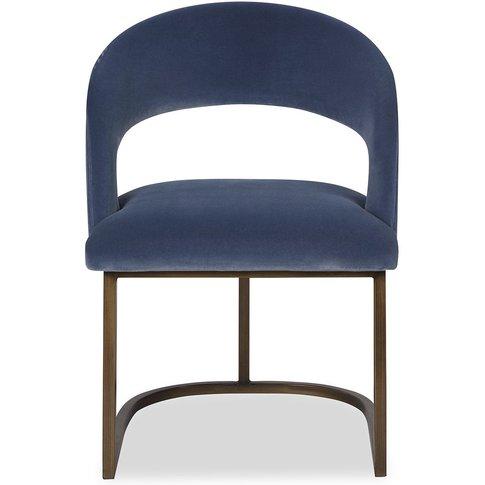 Liang & Eimil Alfie Dining Chair Cobalt Blue | Outlet
