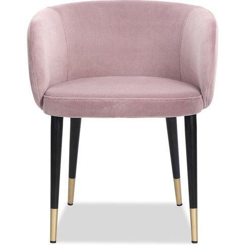Liang & Eimil Ola Dining Chair Kaster Lilac Velvet