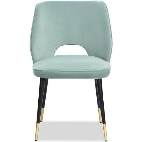 Liang & Eimil Jagger Dining Chair Kaster Veranda Velvet (A Set Of 2)