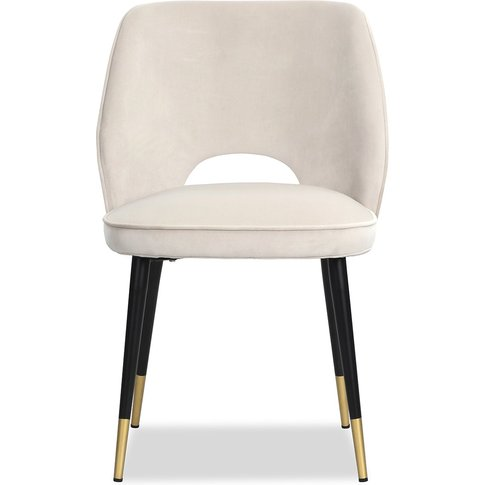 Liang & Eimil Jagger Dining Chair Kaster Pebble Velv...