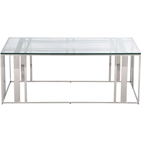 Liang & Eimil Lafayette Coffee Table Polished Stainl...