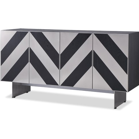 Liang & Eimil Unma Sideboard Black Ash (Brushed Stai...