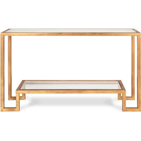 Liang & Eimil Ming Console Table Antique Gold