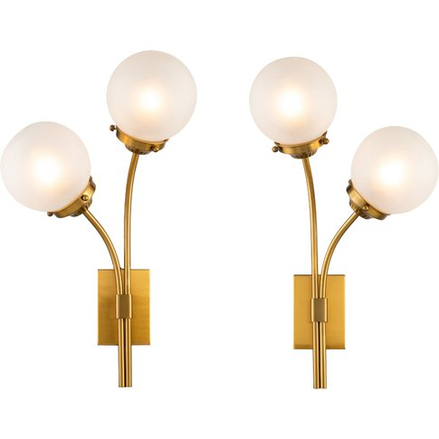 Liang & Eimil Opal Wall Lamp (A Set Of Two)