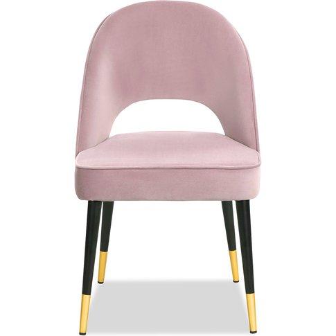 Liang & Eimil Yves Dining Chair Kaster Lilac Velvet ...
