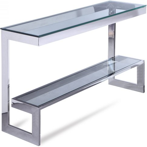 Liang & Eimil Ziggi Console Table Polished Stainless...