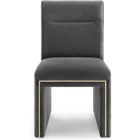 Liang & Eimil Marlow Dining Chair In Kaster Slate Ve...