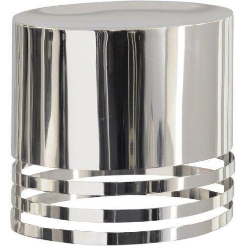 Libra Destino Duo Silver Oval Shade Wall Sconce