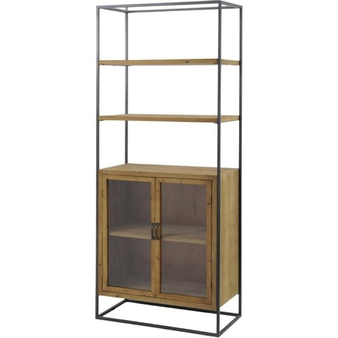 Libra Kempsey Wooden Two Door Cabinet