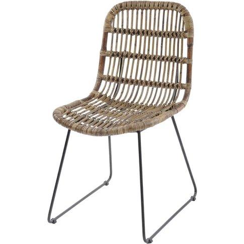 Libra Toba Rattan Dining Chair