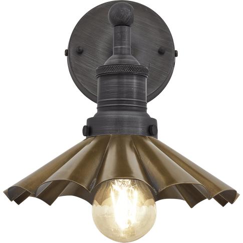 Industville Brooklyn Umbrella Wall Light - 8 Inch - ...