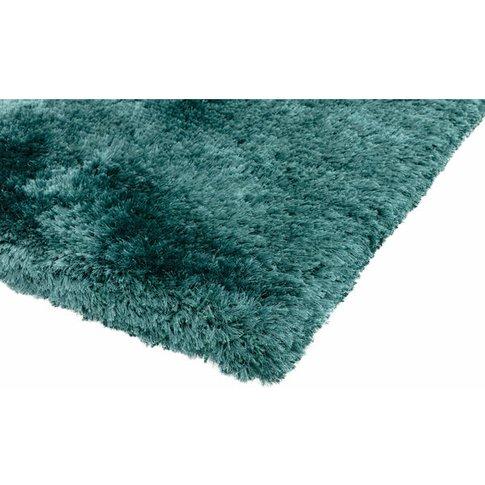 Asiatic Carpets Plush Hand Woven Rug Petrol - 140 X ...