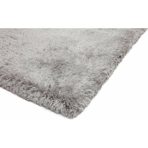Asiatic Carpets Plush Hand Woven Rug Silver - 120 X ...