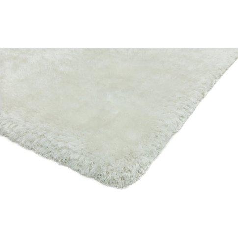 Asiatic Carpets Plush Hand Woven Circle Rug White - ...