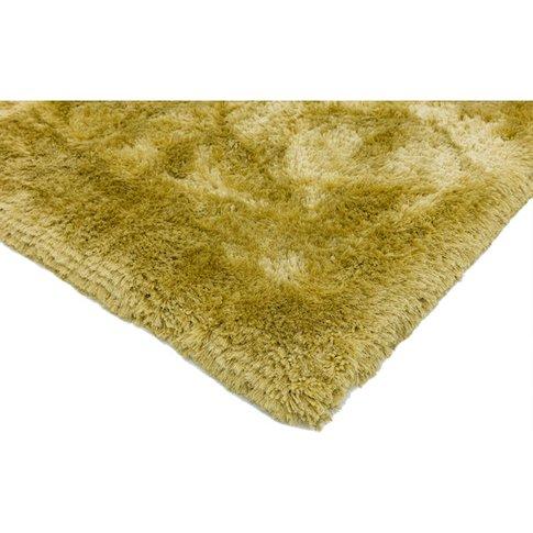 Asiatic Carpets Plush Hand Woven Rug Yellow - 200 X ...