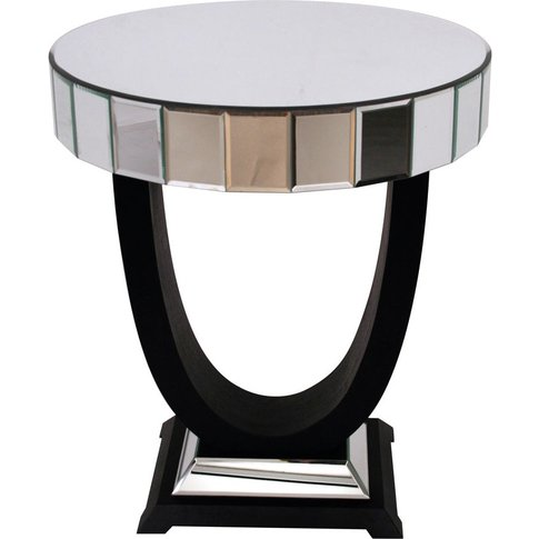 Rv Astley Objet Mirrored Side Table