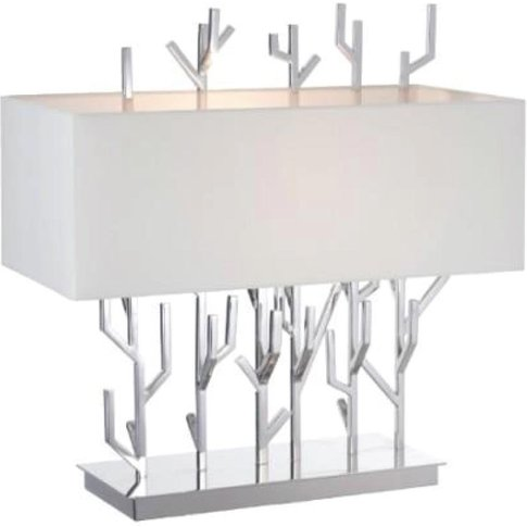 Rv Astley Carrock Nickel Finish Table Lamp | Outlet