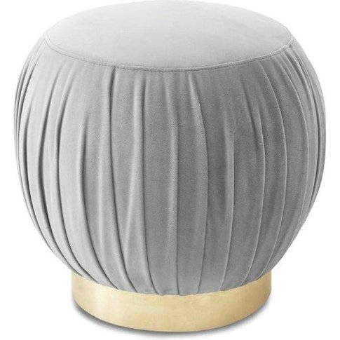 Liang & Eimil Charlie Footstool / Brass