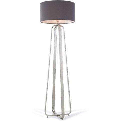 Rv Astley Victoria Nickel Floor Lamp