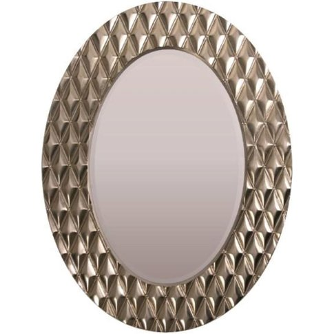 RV Astley Avila, Champagne Silver Finish Mirror