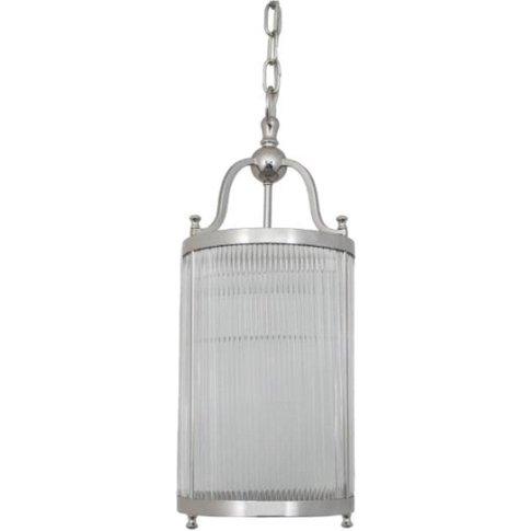 Rv Astley Caldes Nickel Ceiling Light
