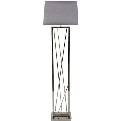 Rv Astley Carinne Nickel Floor Lamp