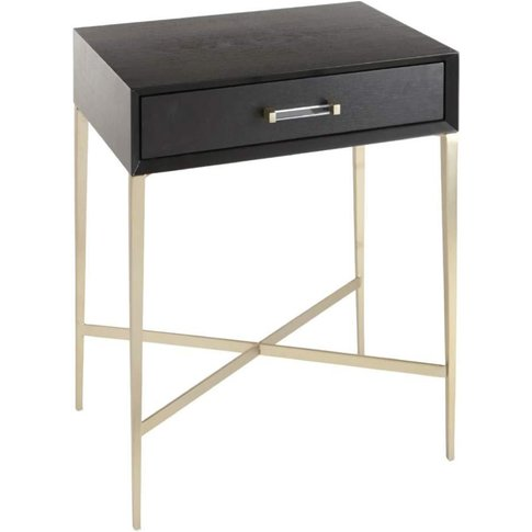 Rv Astley Dana Side Table In Black