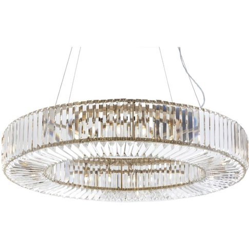RV Astley Fairlawns Large Oval Chandelier