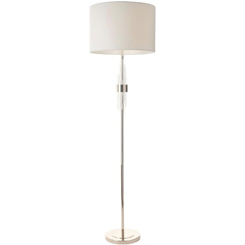 Rv Astley Mildan Brushed Nickel Floor Lamp