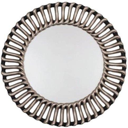 Rv Astley Valentina Champagne Silver & Black Mirror