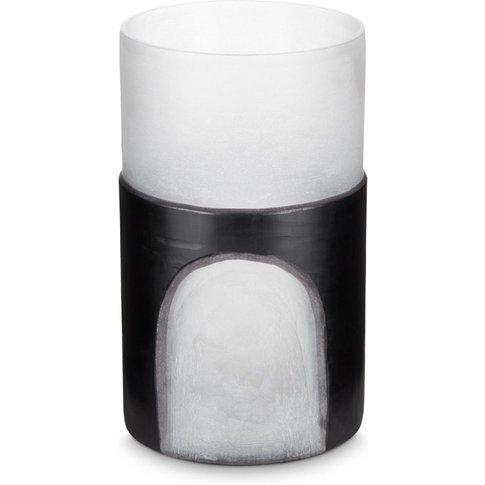 Tom Dixon - Carved Vase Medium Black