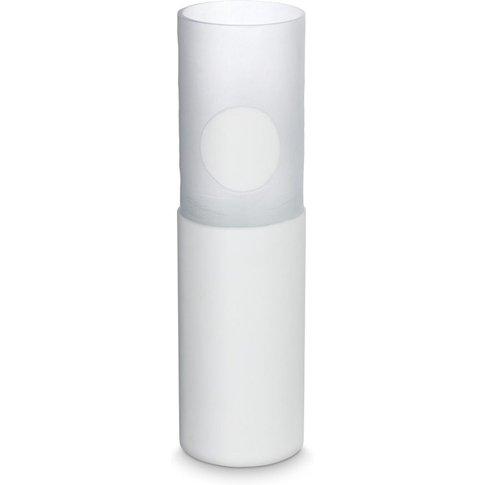 Tom Dixon - Carved Vase Tall White