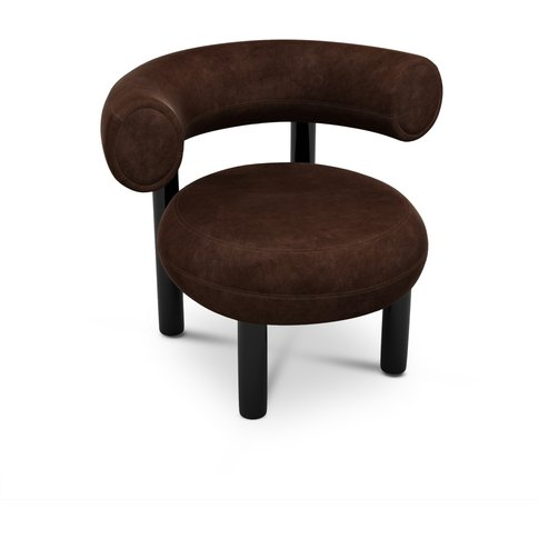 Tom Dixon - Fat Lounge Chair Royal Nubuck 30258