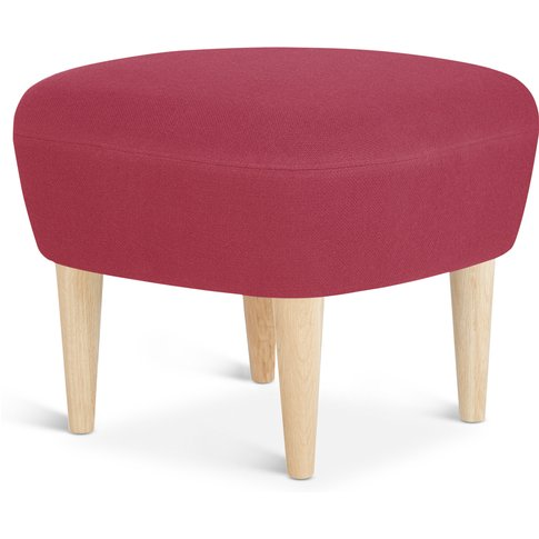 Tom Dixon - Wingback Ottoman Natural Leg Tonus 4