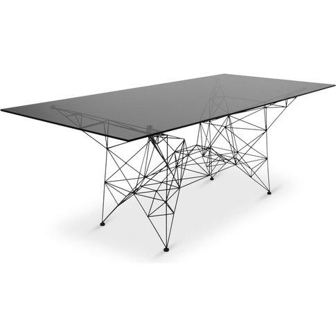 Tom Dixon - Pylon Dining Table Black