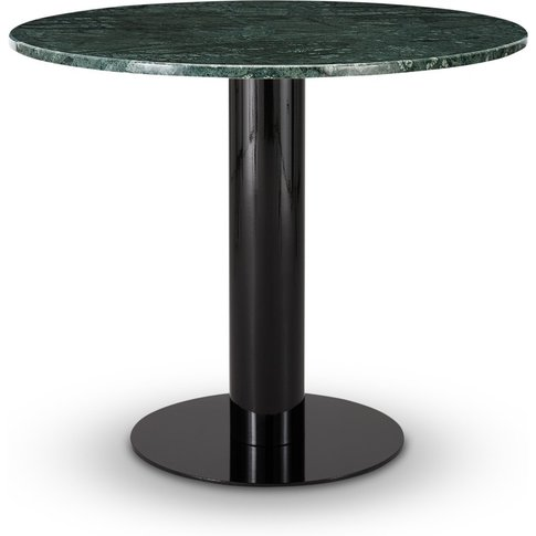 Tom Dixon - Tube Dining Table Green Marble Top 900mm