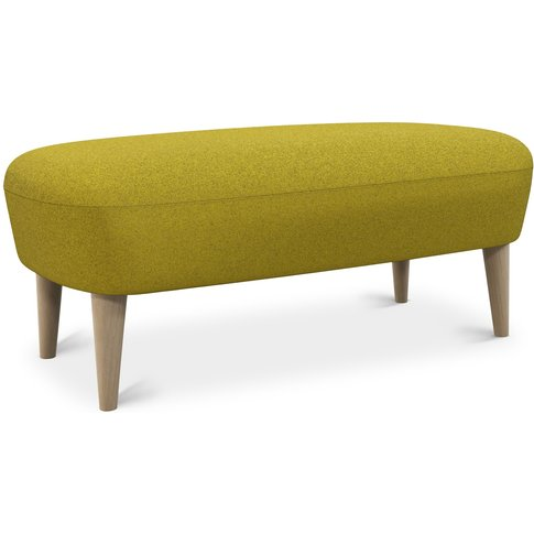 Tom Dixon - Wingback Long Ottoman Natural Leg Tonica...