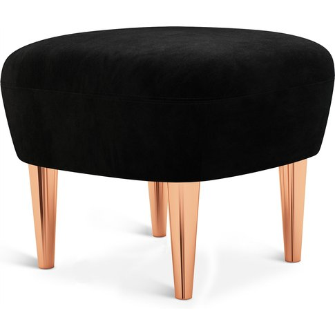 Tom Dixon - Wingback Ottoman Copper Leg Cassia 09
